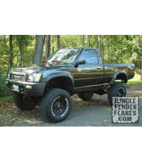 89 - 97 Toyota Hilux LN106 Trayback Fender Flares (Front Pair Only)
