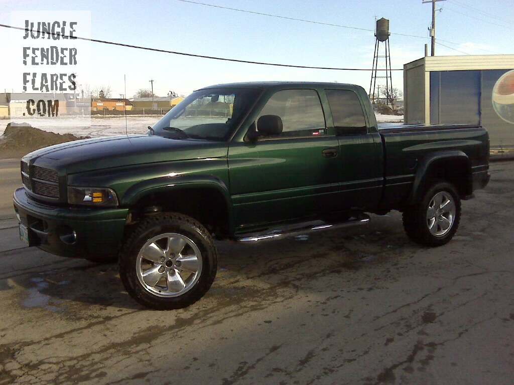 Dodge Ram - 1999 painted wheel flares