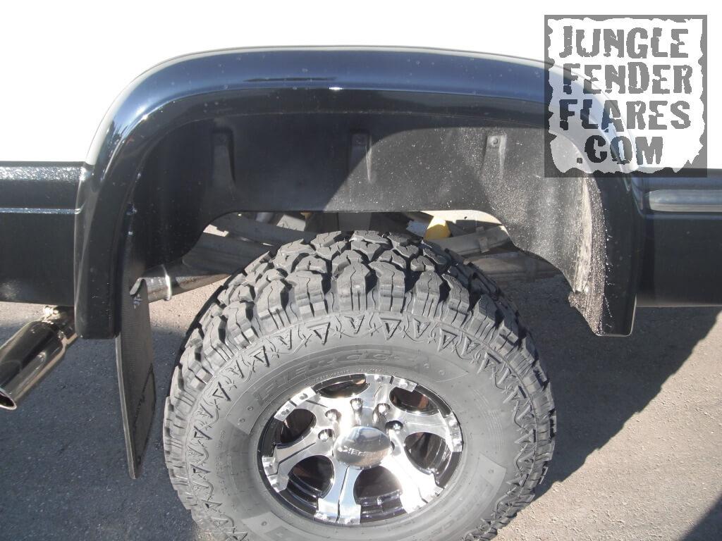 Josh\' Painted rear Dodge Ram Fender Flare 1998