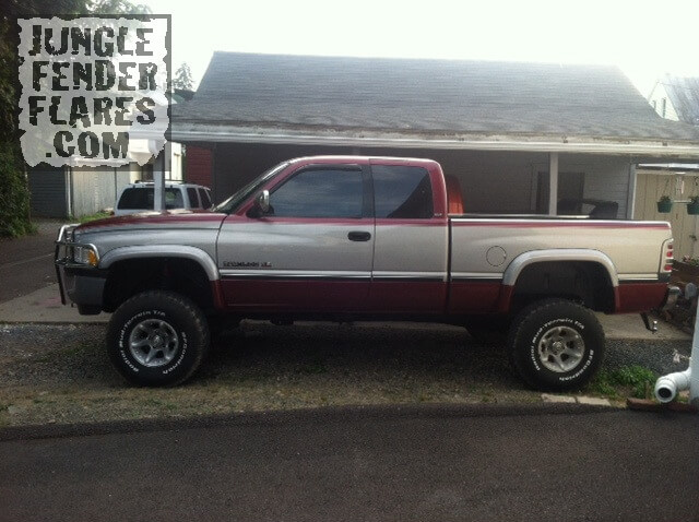 Dodge Ram Fender Flares -1996 with body & suspension lift