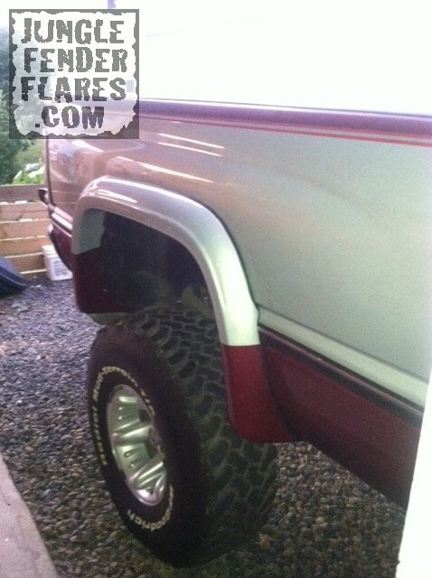 Dodge Ram Fender Flares -1996 with skyjacker lift kit