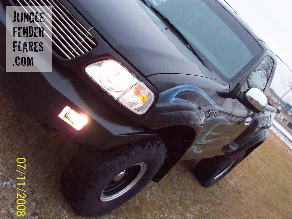 Ford F150 2000 flareside wheel flairs