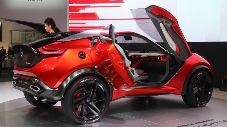 Nissan Gripz Concept Vehicle