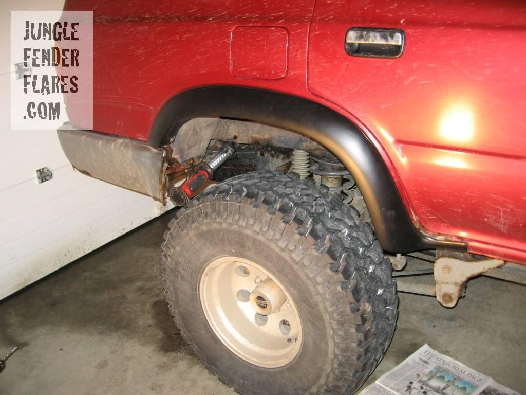 After Shot -Toyota 4runner fender flares