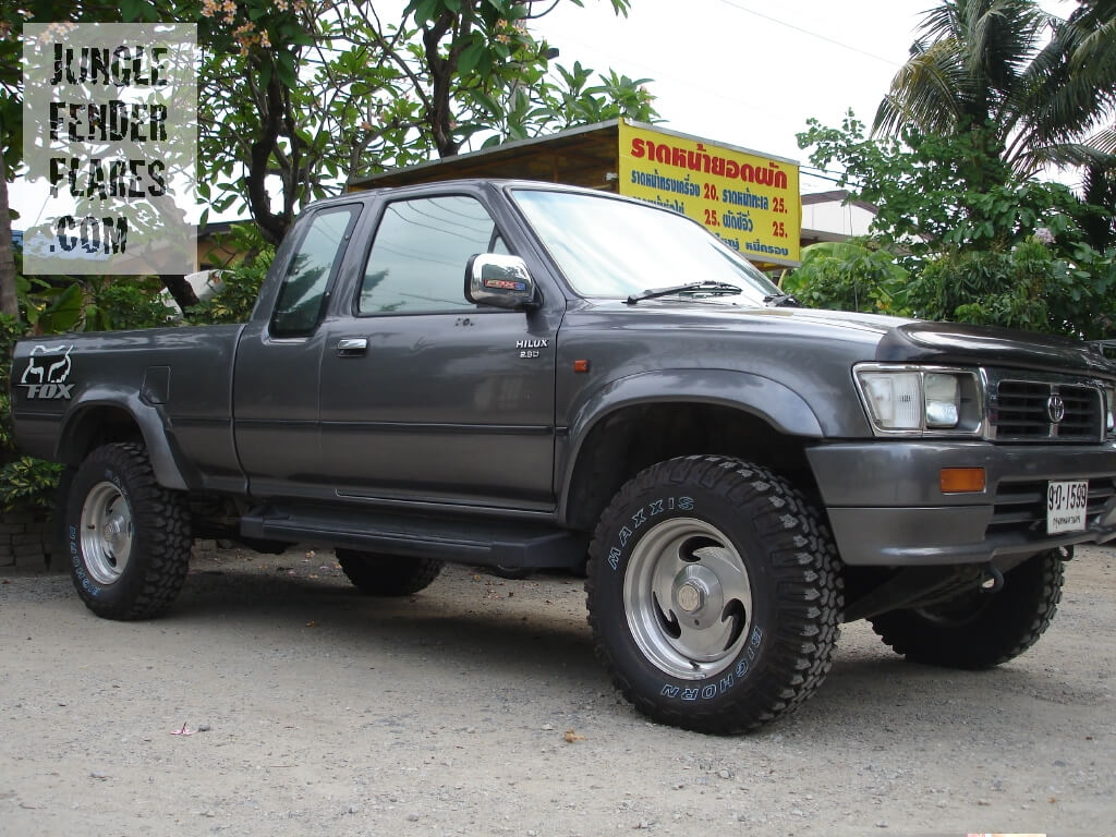 1996 Toyota Hilux wheel arch extensions