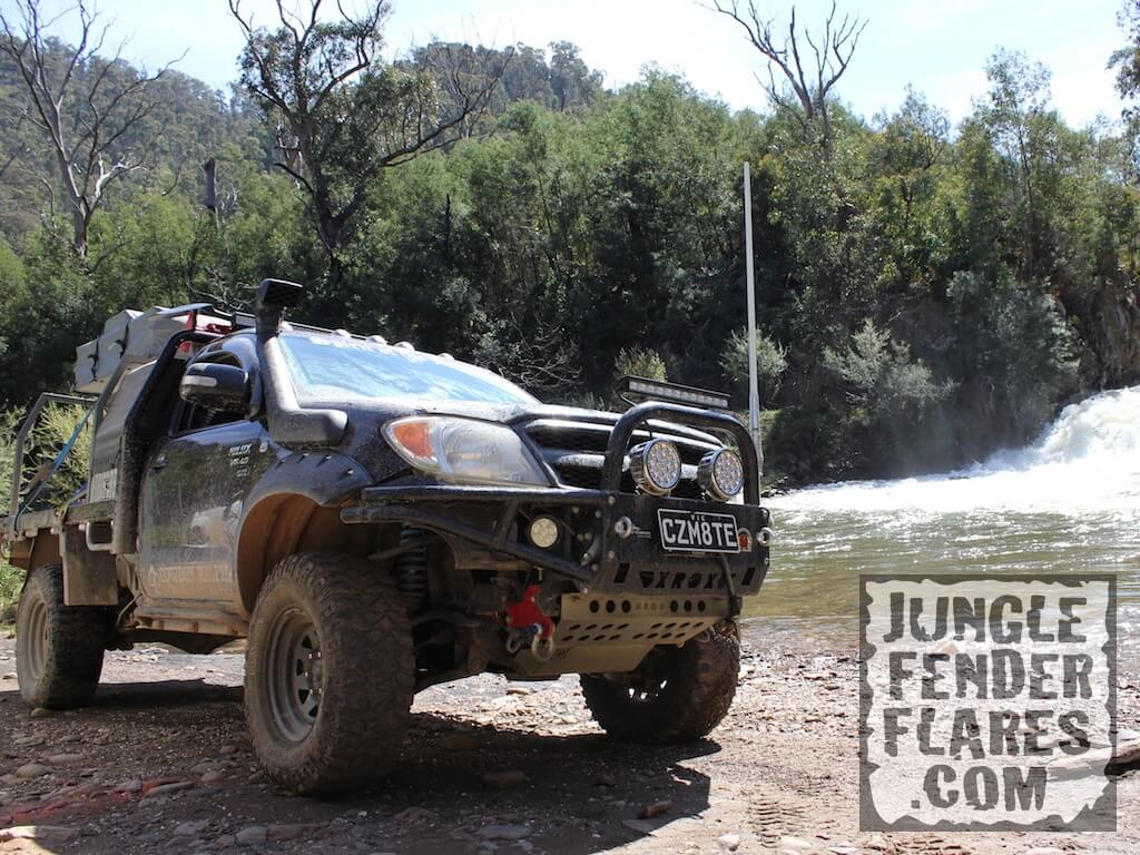 2005 Toyota Hilux Pocket Flares By The Waterfall