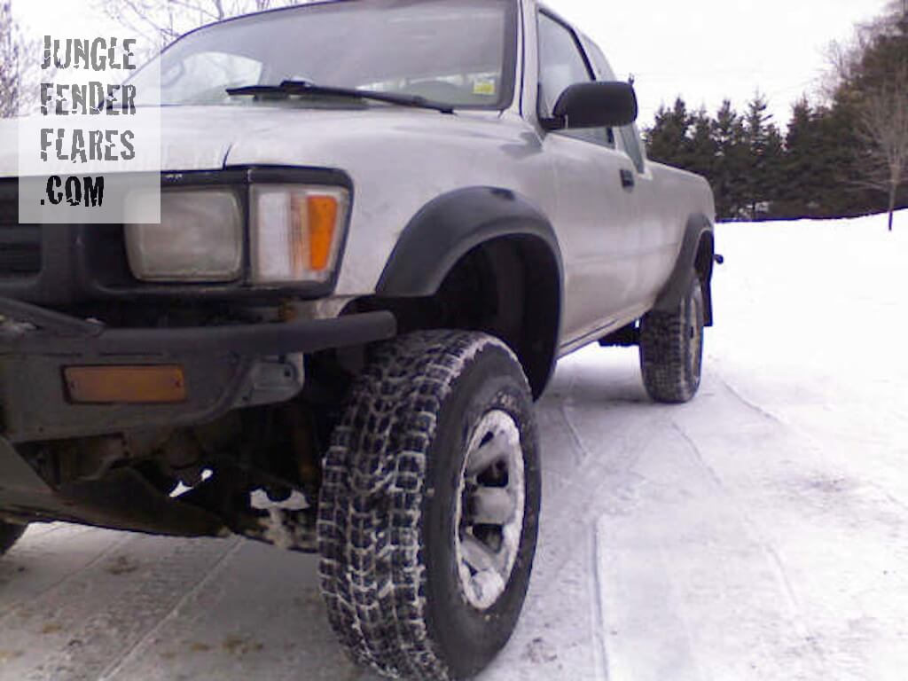 SR5 Toyota Pick Up Truck, 1993 wheel flares