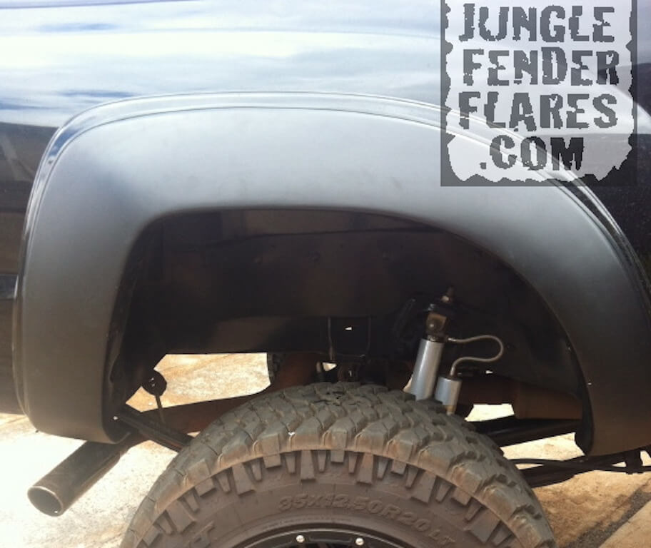 Toyota Tacoma 2006 fender flares wide offset