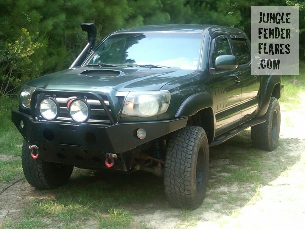 Massive Fender Flares on a 2009 TRD Toyota Tacoma 4WD