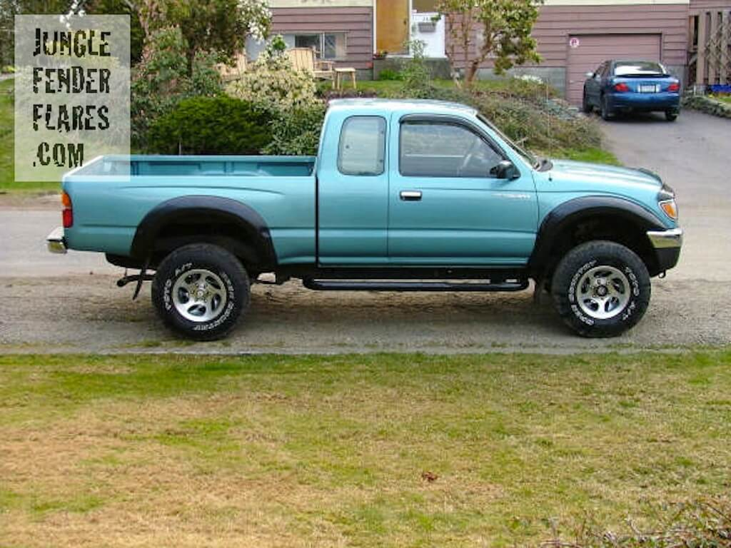 `97 Toyota Tacoma with lift kit and flares