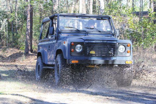 Two-Letter Defender: An LS-Powered Land Rover that goes as good as