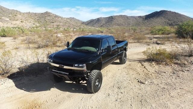 A Long Bed Duramax With Loads Of Power And Custom Suspension