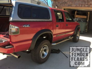 , Chevrolet S10 ZR5 Crew Cab with ZR2 Style Jungle Fender Flares