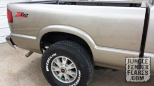 ZR2 Chevy S10 and GMC Sonoma Fender Flare Fitment | Jungle Fender