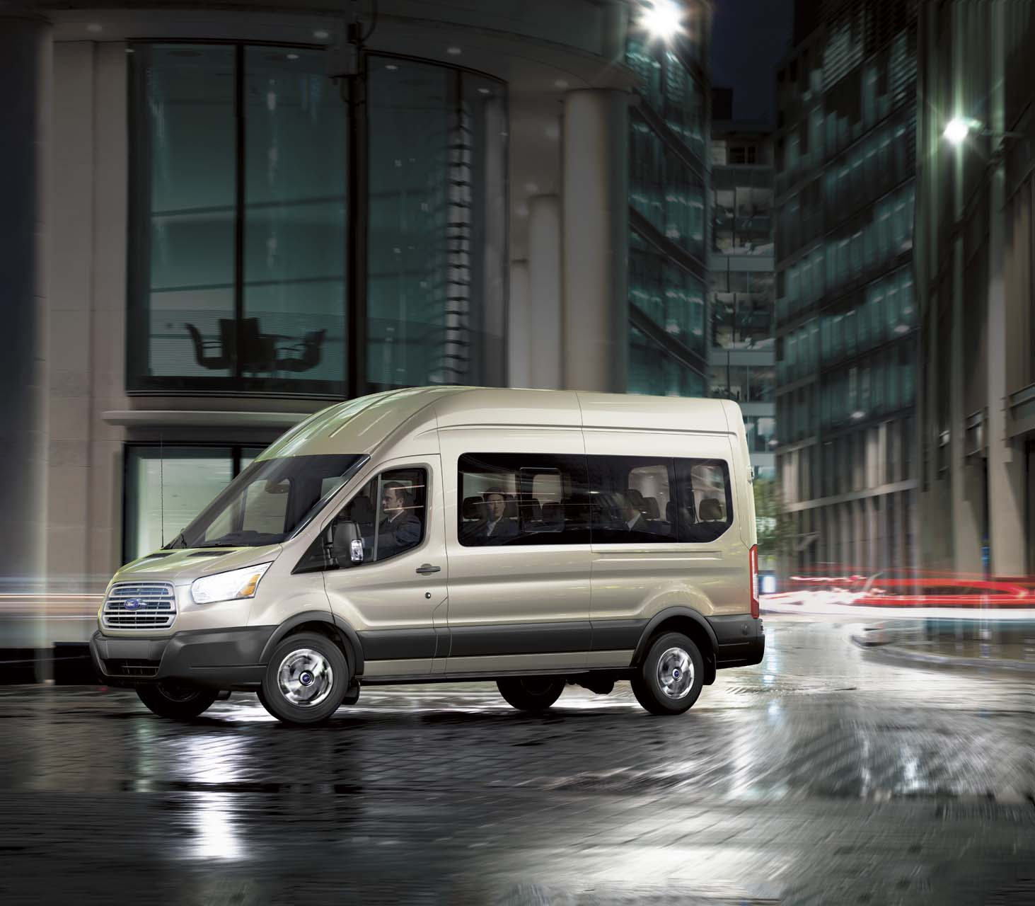 Nissan Cargo Van >> 2019 Ford Transit Passenger Wagon Review, Ratings, Specs ...
